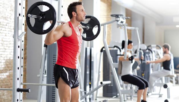 ejercicio músculos gimnasio