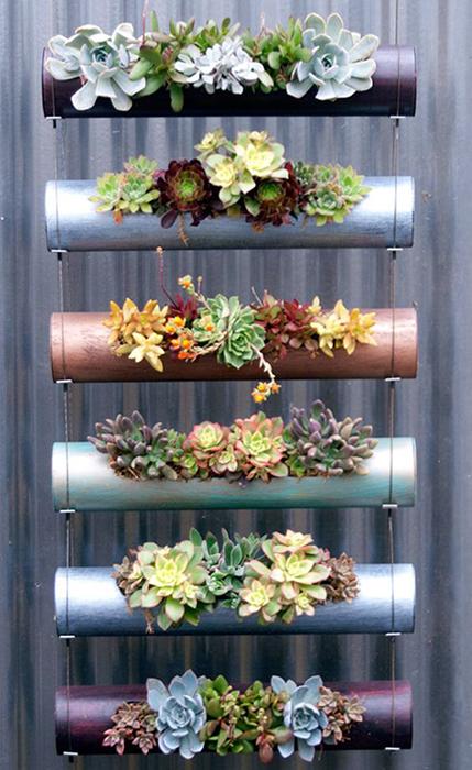 Revista vidasana 10 ideas fascinantes para decorar con plantas tu ...