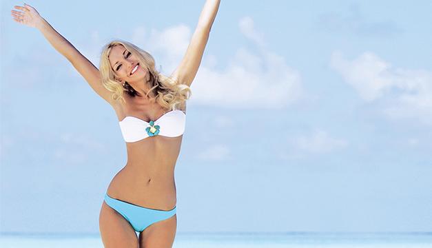 depilacion mujer bikini verano