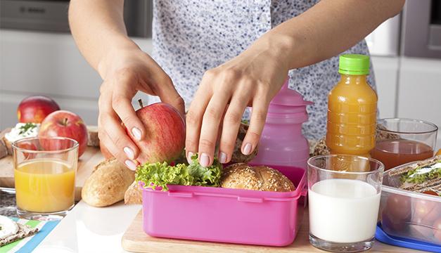 lonchera sana nutricion comida