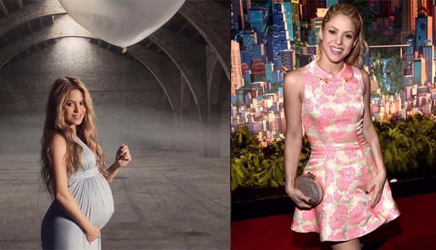 Shakira antes y despues