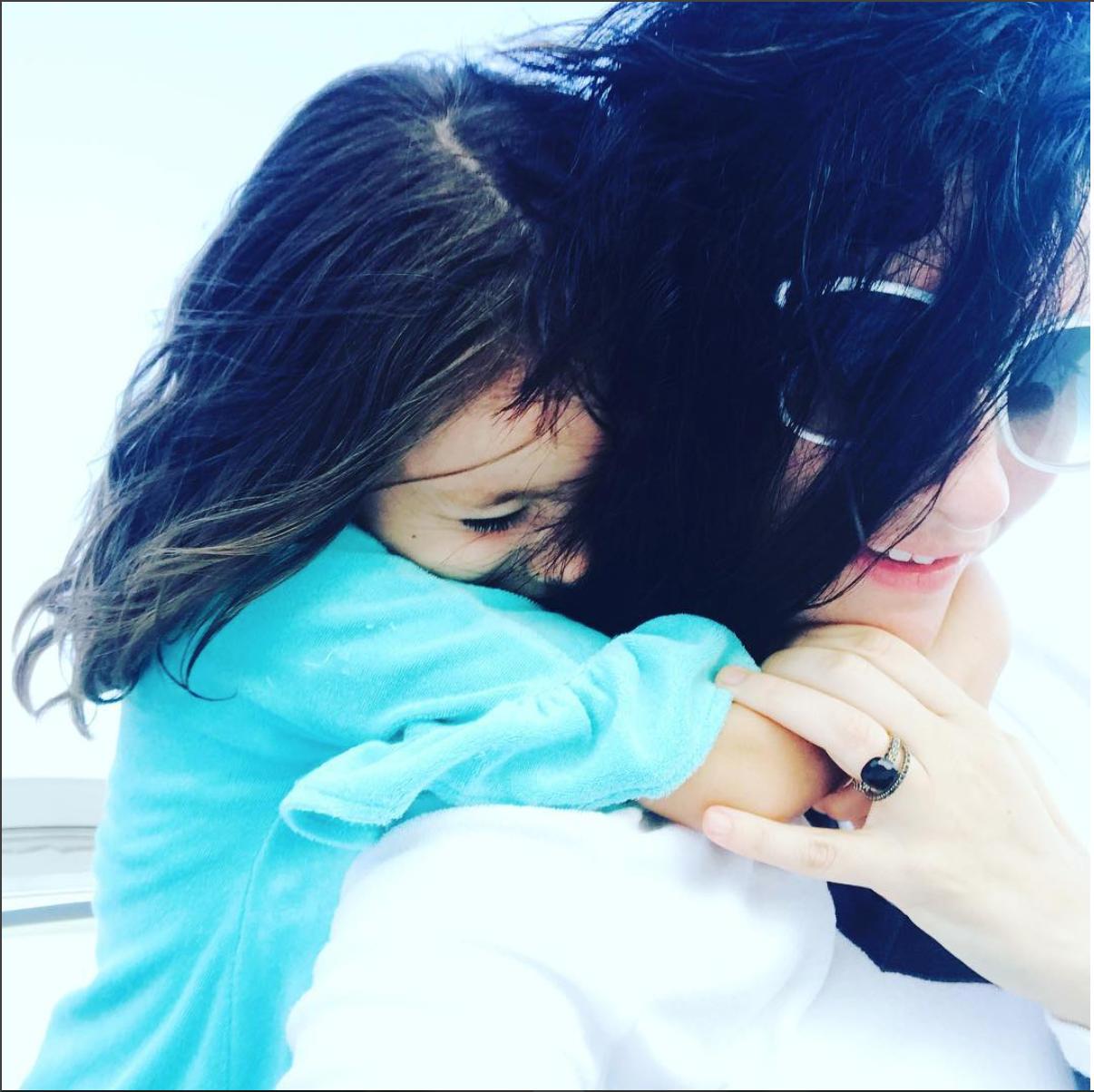Laura Pausi y su hija. Imagen: Instagram @laurapausini
