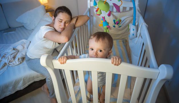 6 años después del nacimiento del bebé los padres vuelven a dormir como antes