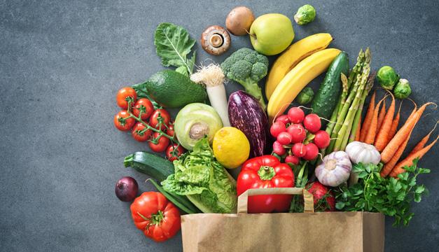 ¿Qué alimentos debe incluir un plato para personas diabéticas?
