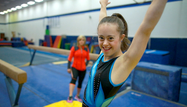 Chelsea Werner, la gimnasta campeona con Síndrome de Down que hoy es modelo