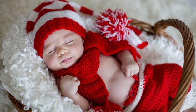 Recomendaciones para pasar la Navidad con un recién nacido