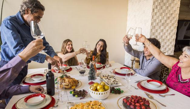 Los excesos que debes evitar en las fiestas navideñas