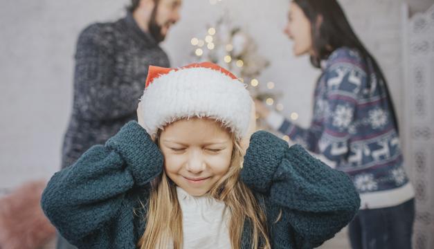 Disfruta de una noche de navidad sin problemas familiares