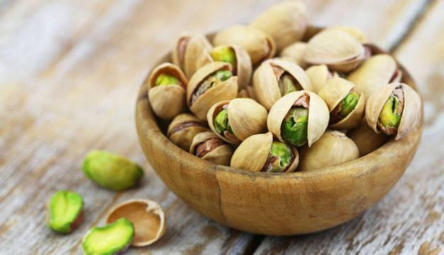 Pistacho, el fruto seco que contiene menos calorías