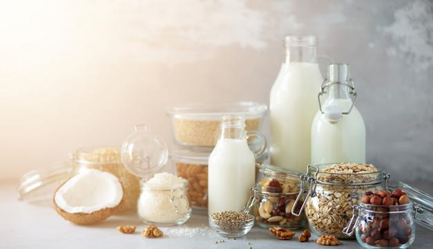 4 tipos de leche. ¿Cuál es la que tú necesitas?