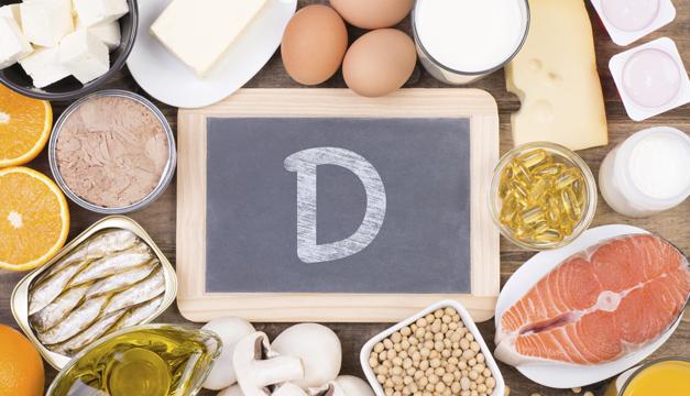 Alimentos como fuente de vitamina D durante la cuarentena