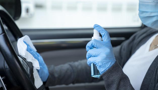 ¿Cómo limpiar el automóvil en tiempos de COVID19?