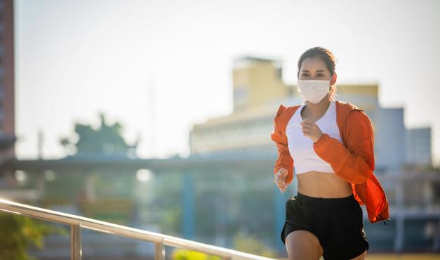 ¿Debo utilizar mascarilla para hacer ejercicio al aire libre?