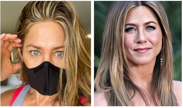 Jennifer Aniston pide a todos usar mascarilla para protegerse contra el COVID19