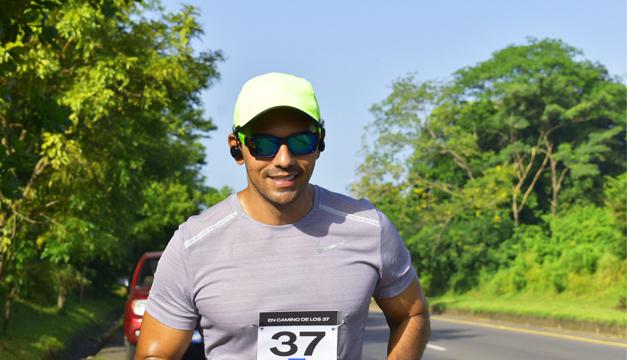 Kerim Handal y su carrera de 37 kilómetros de vida