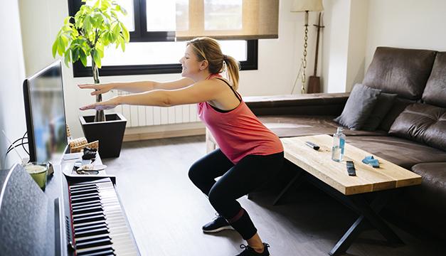 Los 5 ejercicios más sencillos que puedes realizar en casa