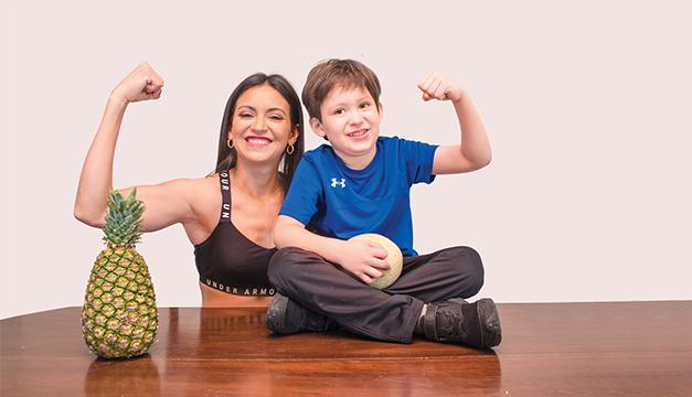 """""""Ver el reflejo de mi trabajo como nutricionista en mi hijo, es mi mejor regalo"""""""