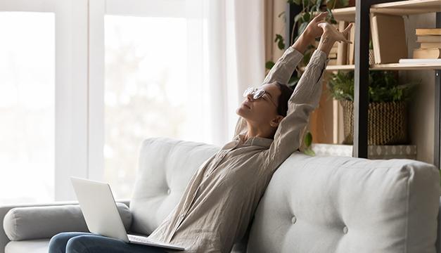 Esta es la mejor postura para respirar correctamente
