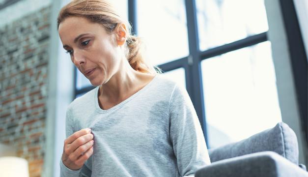¿Cómo controlar el sudor excesivo?