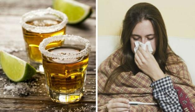 ¿El tequila funciona para curar el resfriado? Averigua si es mito o verdad